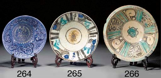 A Timurid pottery bowl 15th/16