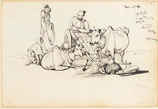 Peasants and Oxen George Chinn