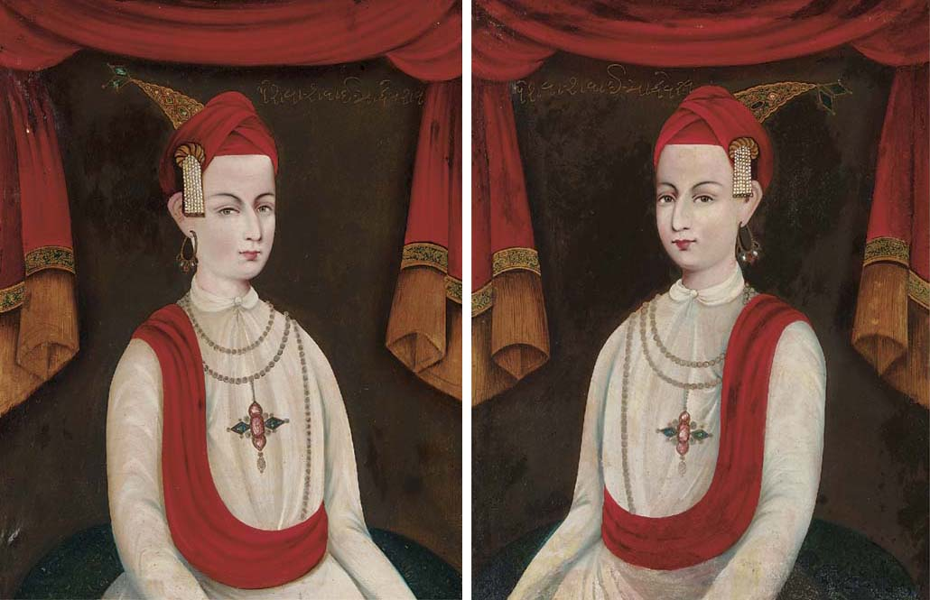 Two Portraits of Peshwa Sawai
