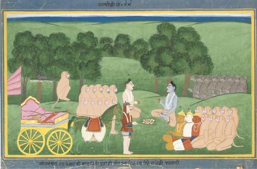 Illustration from Valmiki's Ra