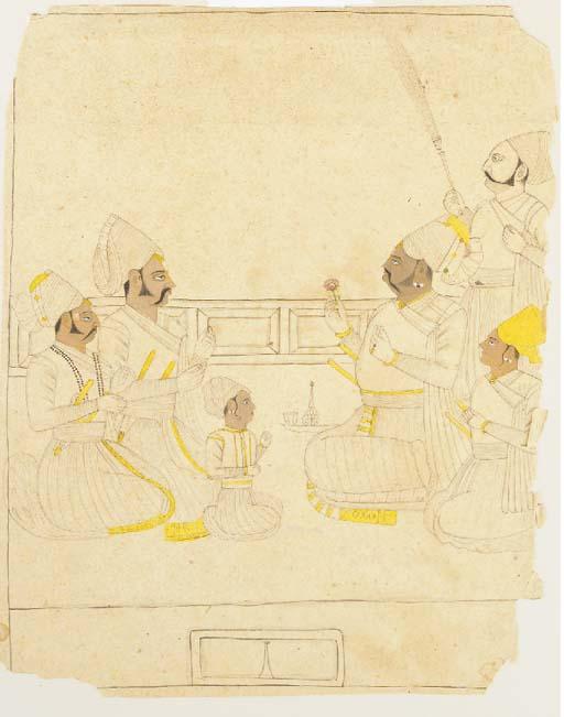 Raja Shir Naj Singh Bakhavat Rajasthan, Probably Nagaur, 18th Century
