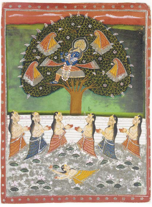 Krishna and the Gopis Rajastha