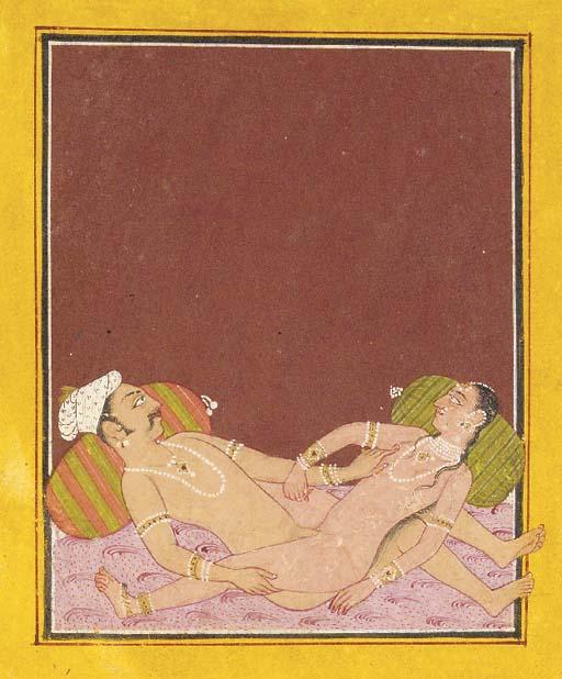 Four Paintings of Lovers Rajas