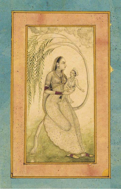 Mother and Child Mughal, Decca