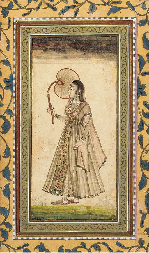 Lady Holding a Fan Provincial