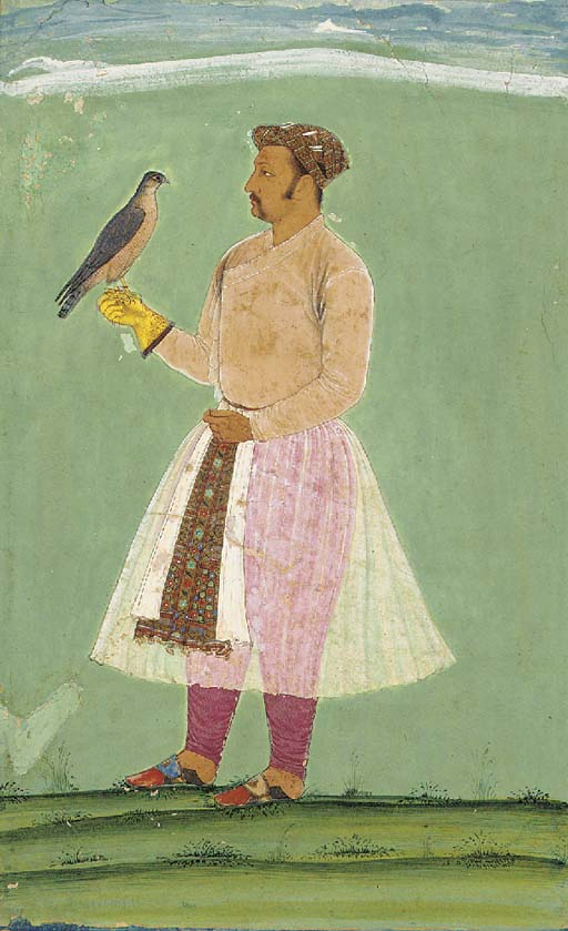 Portrait of a Man Hawking Mugh