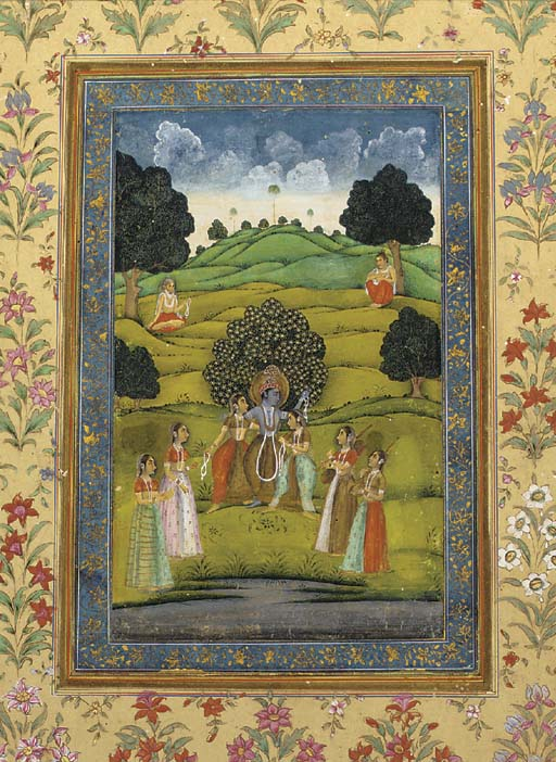 Krishna and the Gopis Provinci