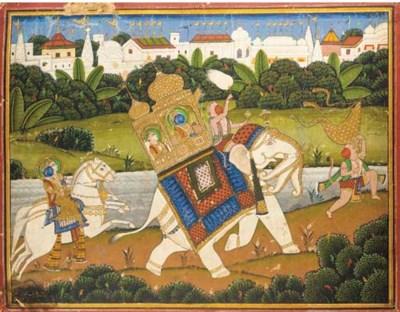 Rama, Lakshman and Hanuman rid