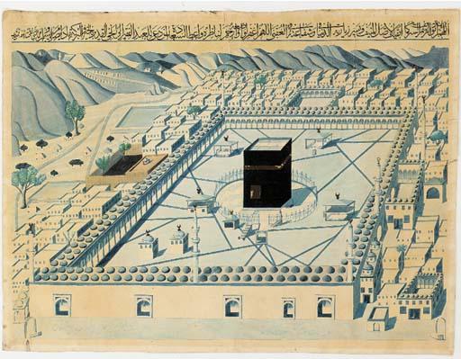 Mecca Ottoman, 19th Century
