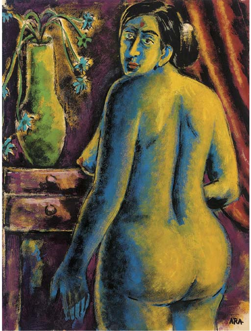 Nude and Still Life Krishnaji