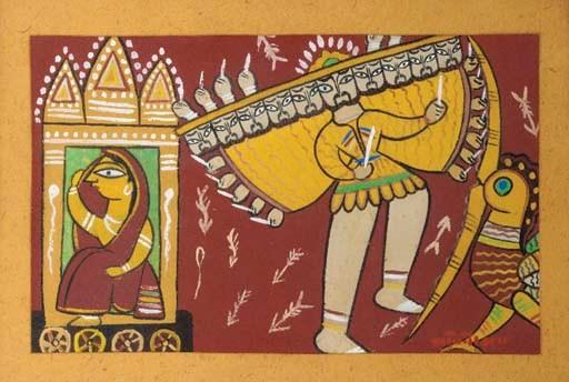 Ravana Jamini Roy (1887-1972)