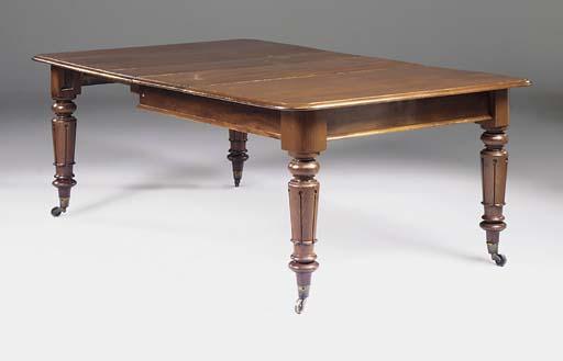 A mid-Victorian mahogany exten