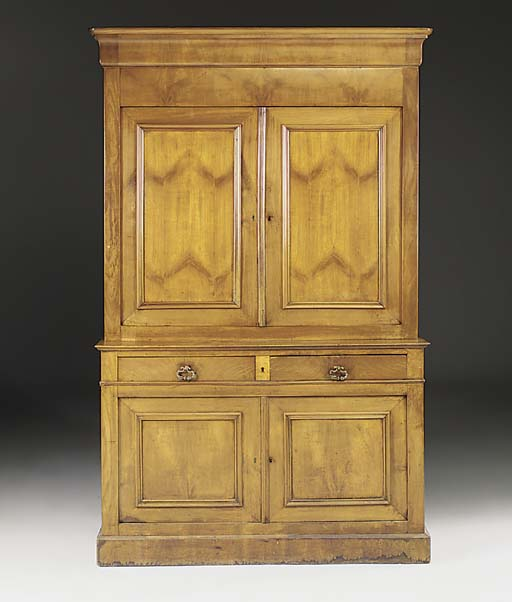 A French cherrywood buffet a d