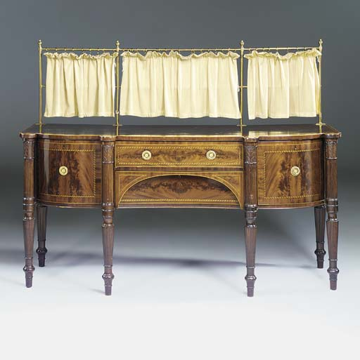 A George IV mahogany and line