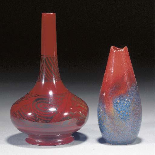 A Bernard Moore vase