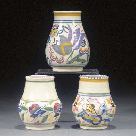 A Poole Pottery vase