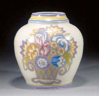 A CSA Poole Pottery vase