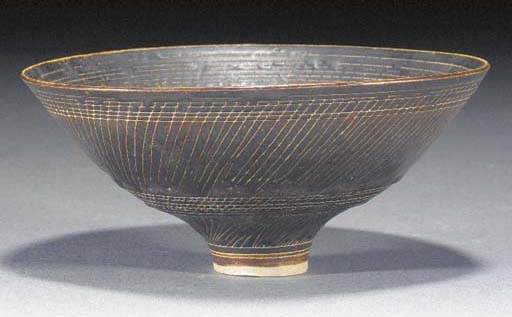 A Dame Lucie Rie small footed