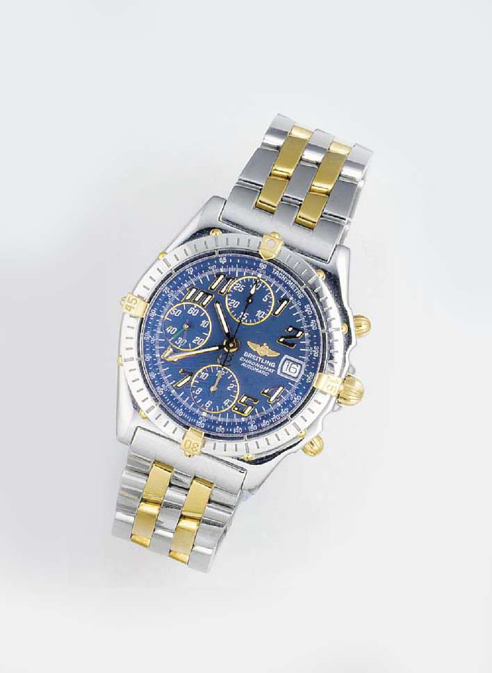 BREITLING, A STEEL AND GOLD AU