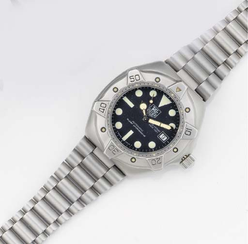 TAG HEUER, A STAINLESS STEEL A