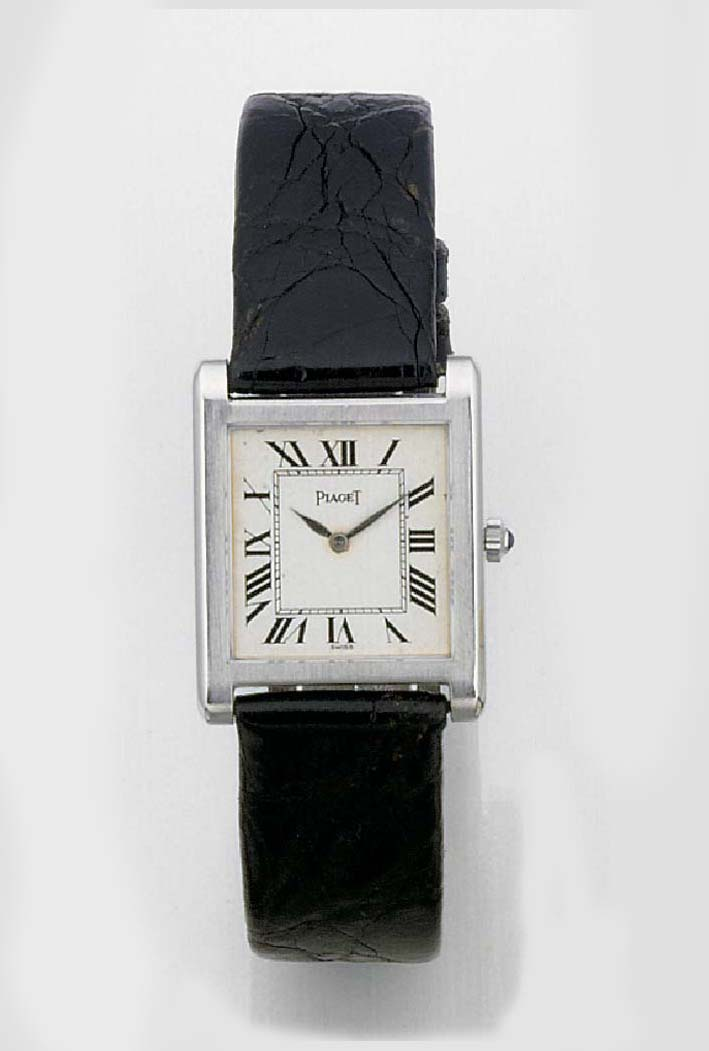 PIAGET, AN 18ct. WHITE GOLD WR