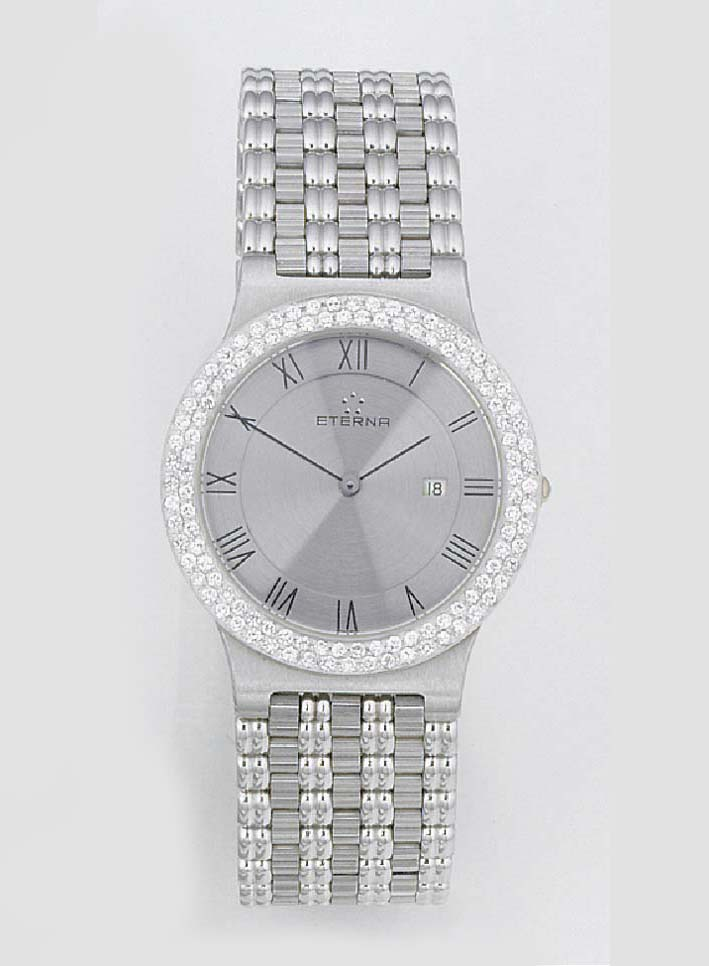 ETERNA, A WHITE GOLD AND DIAMO