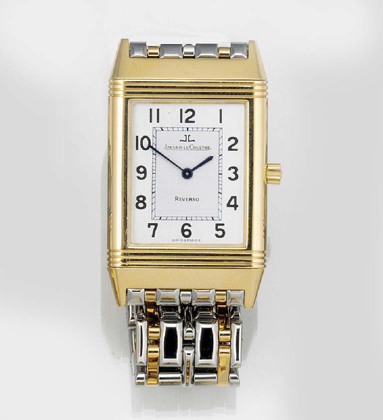 JAEGER LE COULTRE, AN 18ct. GO