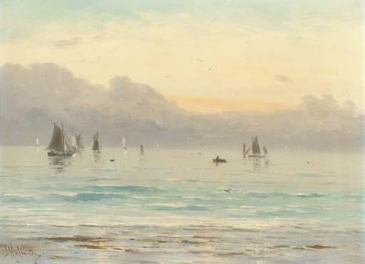 G. de l'Aubinière (fl. 1876-18