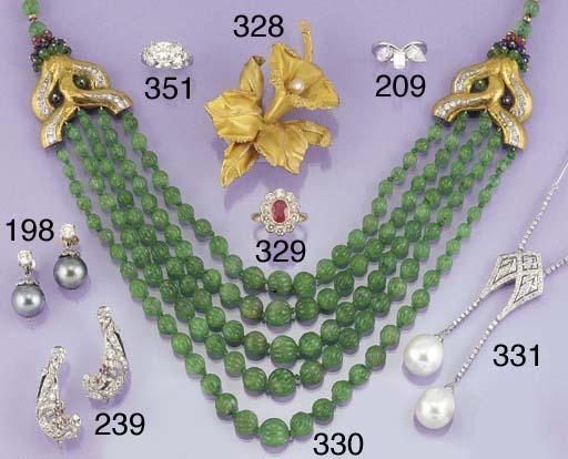 A diamond and South Sea cultur