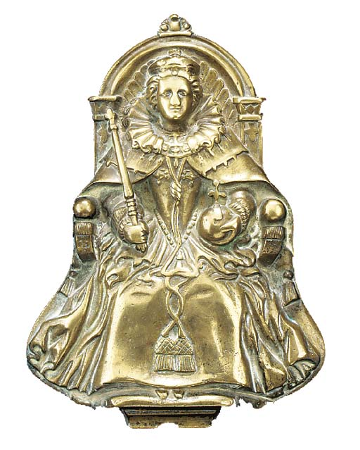 A 15IN. TOMPION PLAQUE FROM H.