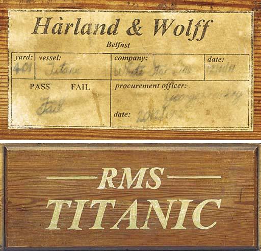 A HARLAND AND WOLFF YARD YARD