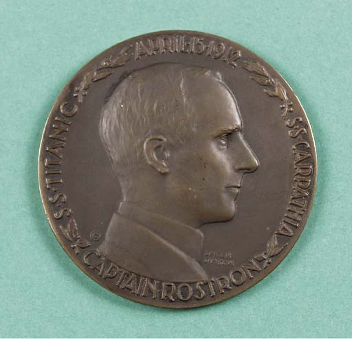A RARE BRONZE COMMEMORATIVE ME