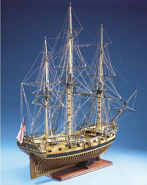 A PLANKED AND RIGGED DOCKYARD-