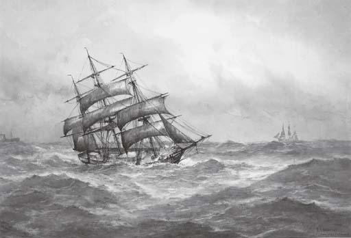 Frederick James Aldridge (1850