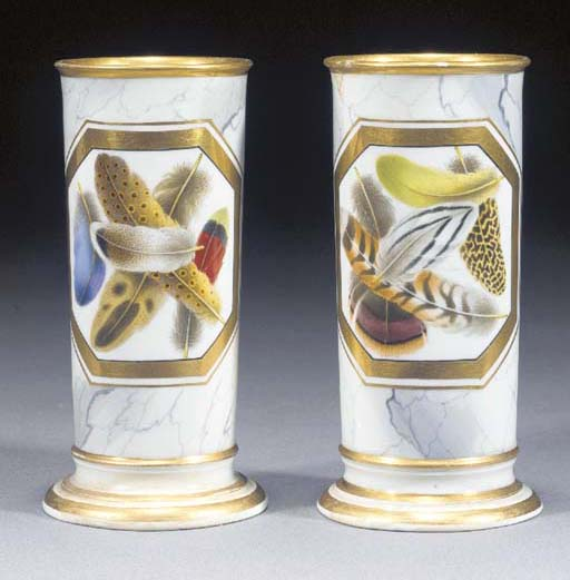 A pair of Worcester (Barr, Fli