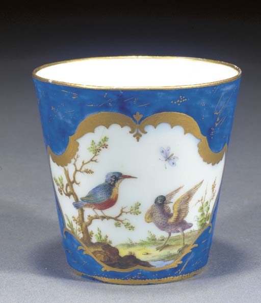 A Vincennes flared cup (gobele
