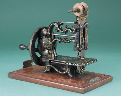 A Globe sewing machine
