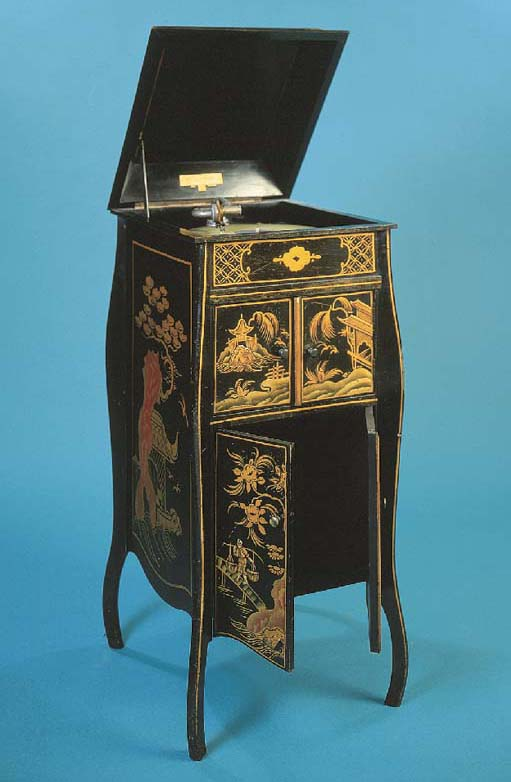 A Fullotone lacquer cabinet gr