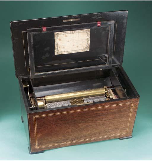 A Flute Mandoline musical box