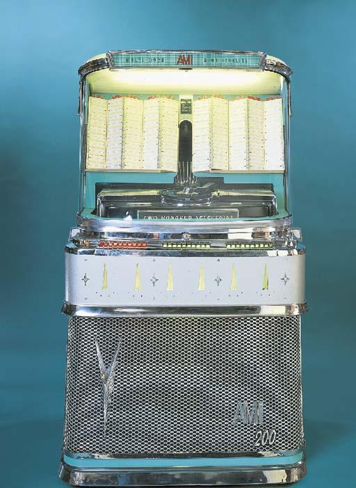 An AMI 200 jukebox