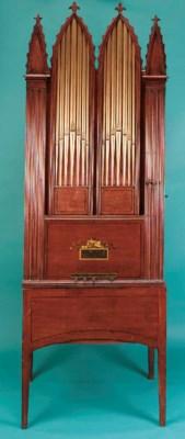A chamber barrel organ by Hy.