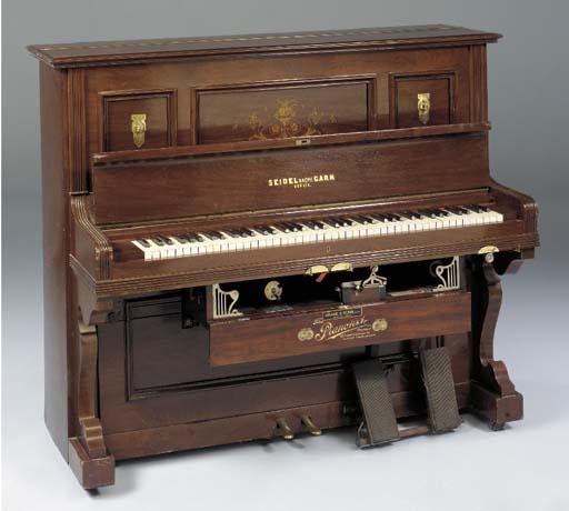 A Pianotist self-playing piano