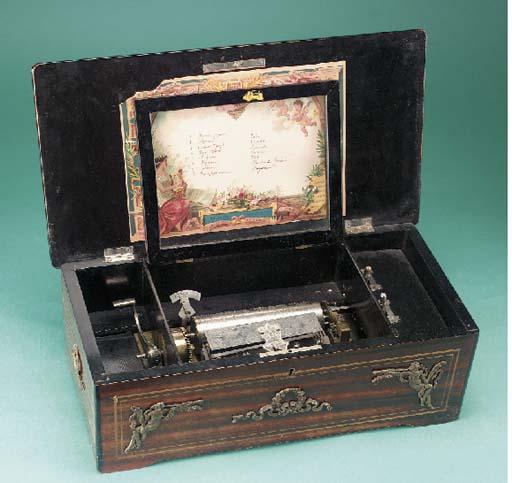 A musical box playing eight ai