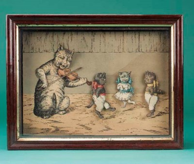 A dancing cats mechanical pict