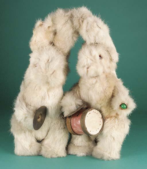 Two Roullet et Decamps rabbit