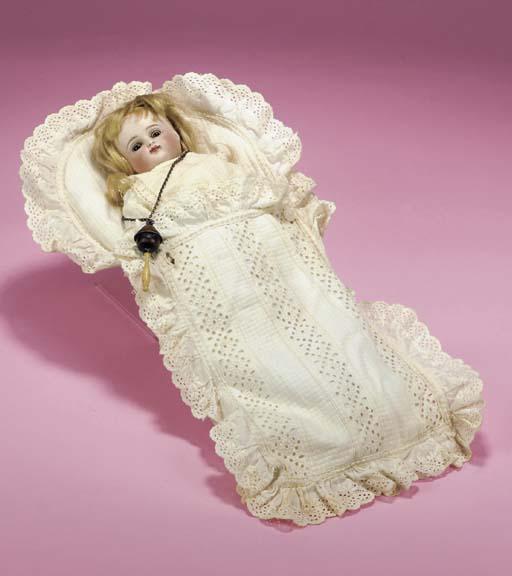 A Kestner shoulder-headed doll