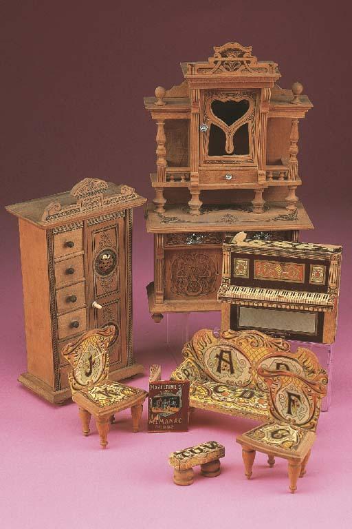 American dolls' house furnitur