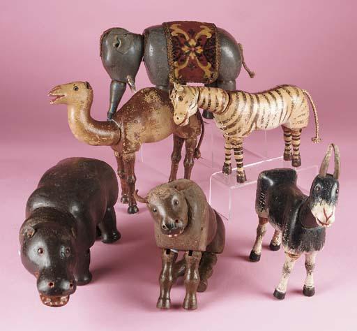 Schoenhut Circus Animals