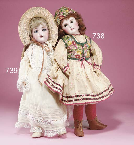 A Limoges Child Doll