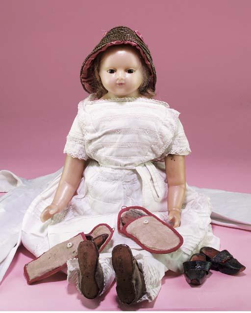 'Chryssa', a poured wax child